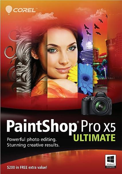 corel paintshop pro x5 ultimate free download