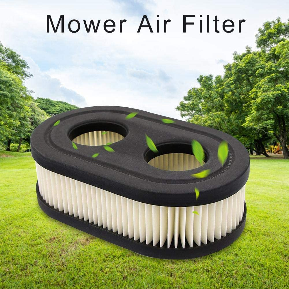 Runningfish Air Filter Element Premium Durable Replacement Push Lawn Mower for Briggs and Stratton 798452 593260 5432 5432K Weeding Accessories Mower Air Filter