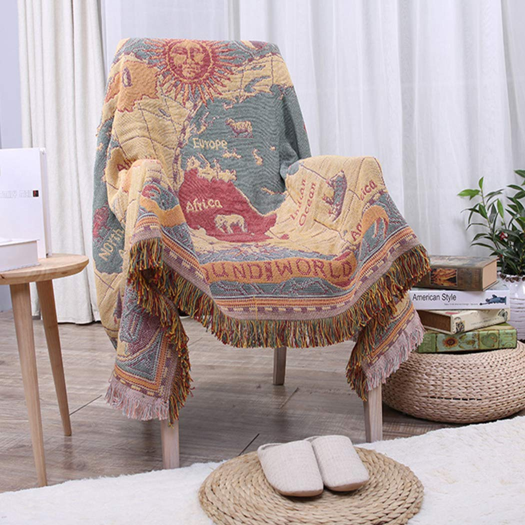 Raylans - Manta para sofá Colcha para Cama Tejida Tarjeta ...