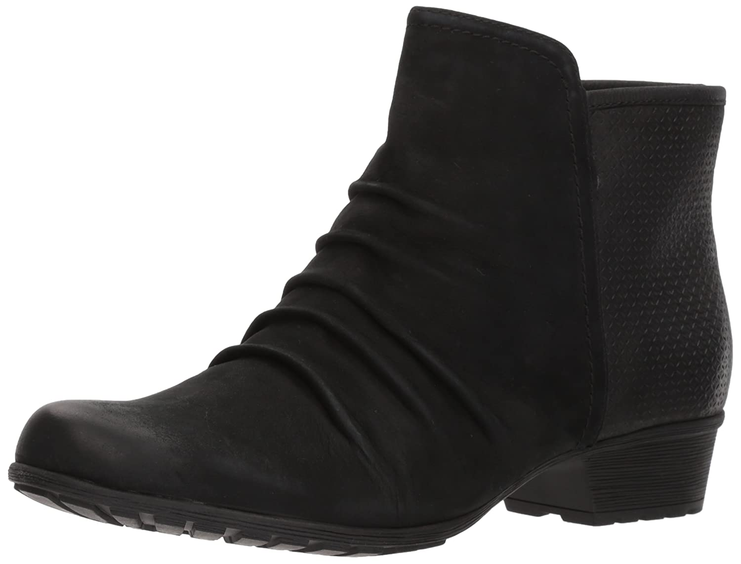 Cobb Hill Panel Women's Gratasha Panel Hill Ankle Boot B01MZIQTW9 10 W US|Black nubuck 1a1d02