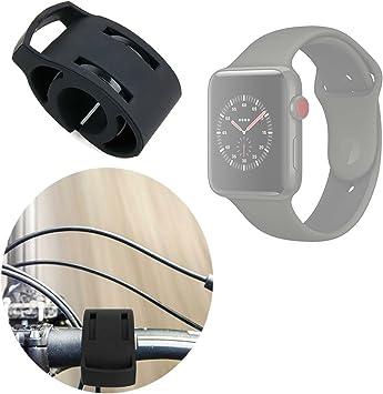 Fijación/Soporte Bicicleta Negro Bicicleta Compatible con reloj ...