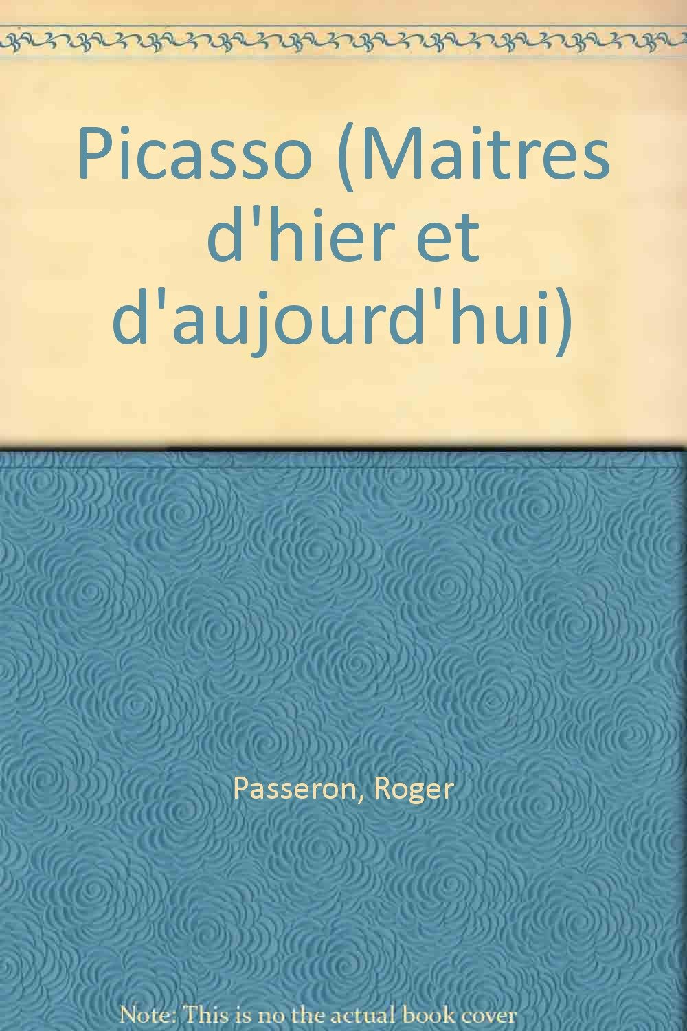 picasso maitres dhier et daujourdhui french edition