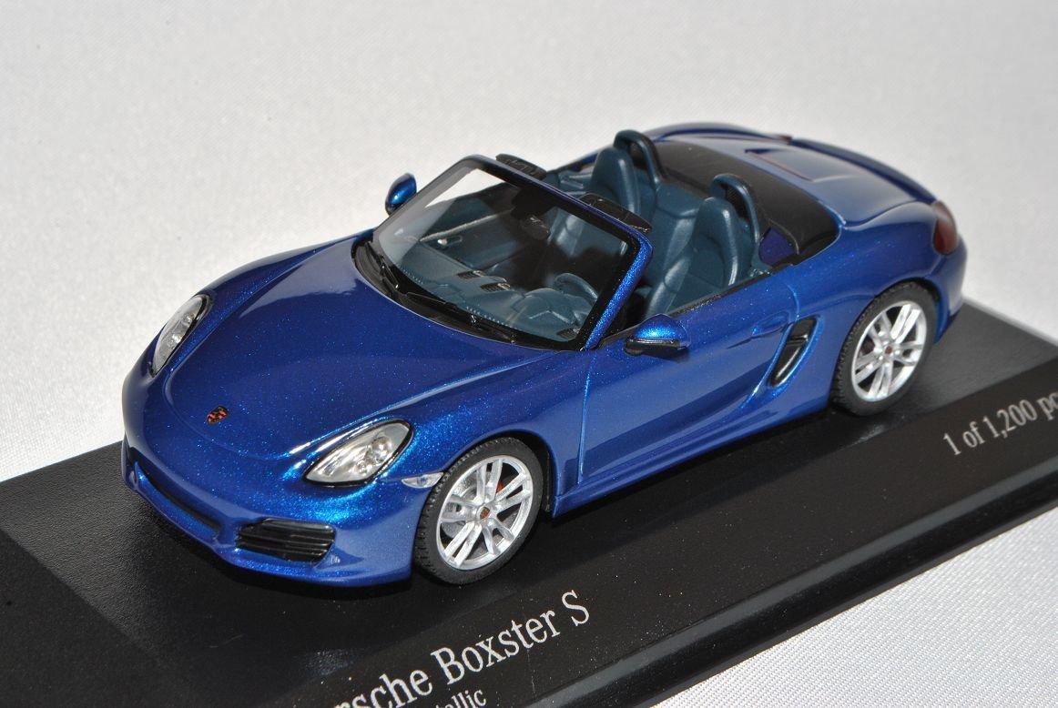 Minichamps Porsche Boxster S Cabrio Blau 981 Ab 2012 2012 2012 1 43 Modell Auto mit individiuellem Wunschkennzeichen B00DOH2PEA Fahrzeuge 0dc0c8