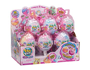 Pikmi Pops Serie 2 - Flip Me Piruleta 1 Peluche Perfumado Coleccionable y Sorpresas, Multicolor (Giochi Preziosi PKM19000)