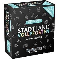 DENKRIESEN - Stadt Land VOLLPFOSTEN - Das Kartenspiel - Junior Edition - Neuheit 2019