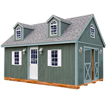 Wonderful Arlington 12 Ft. X 20 Ft. Wood Storage Shed Kit With Floor Including 4