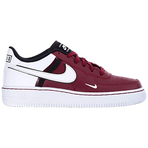 nouveau style 17e14 e7a62 Nike Youth Air Force 1 LV8 2 Cuir Formateurs: Amazon.fr ...