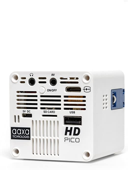 AAXA HD Pico LED Projector with 150-Minute Rechargeable Battery ...