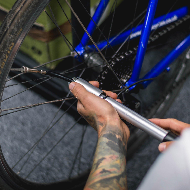 Vélo Cycle Bicyclette Presta Alliage Haute Pression Valve Caps Dust Cover Noir x 2