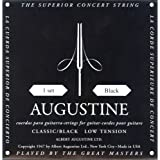 Augustine AUGBLKSET Nylon Classical Guitar Strings, Light