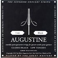 Augustine Cuerdas para Guitarra Clásica, Negro, Juego, Tensión