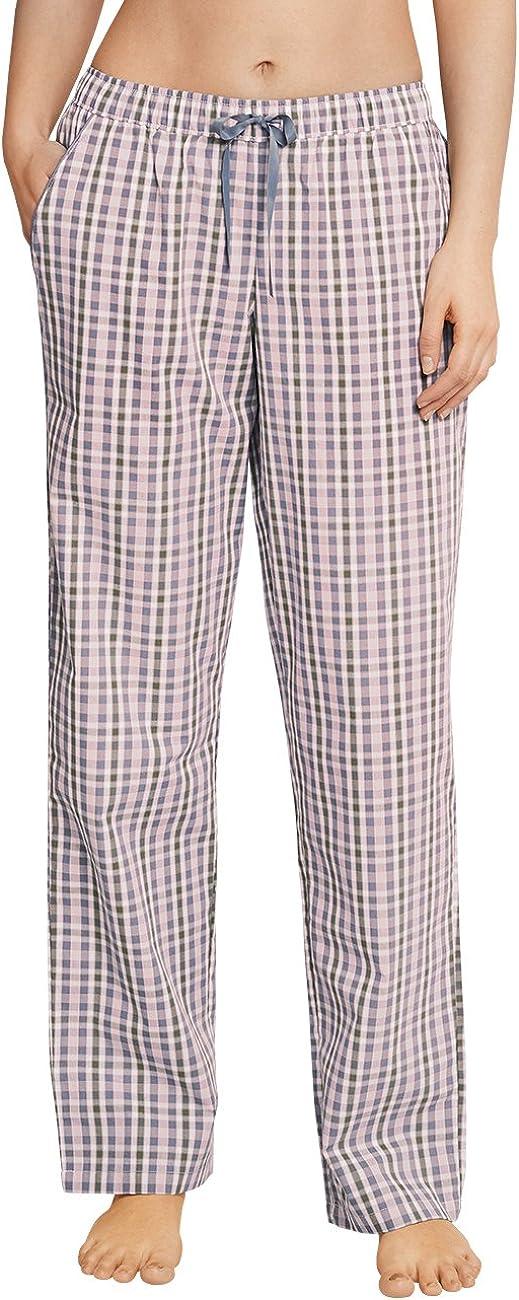 Schiesser Mix & Relax Webhose Lang Pantalones de Pijama para Mujer