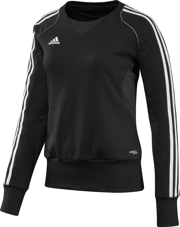 adidas Pullover T12 Team Crew Sweater X13715 - Prenda, color negro / blanco, talla DE: 50