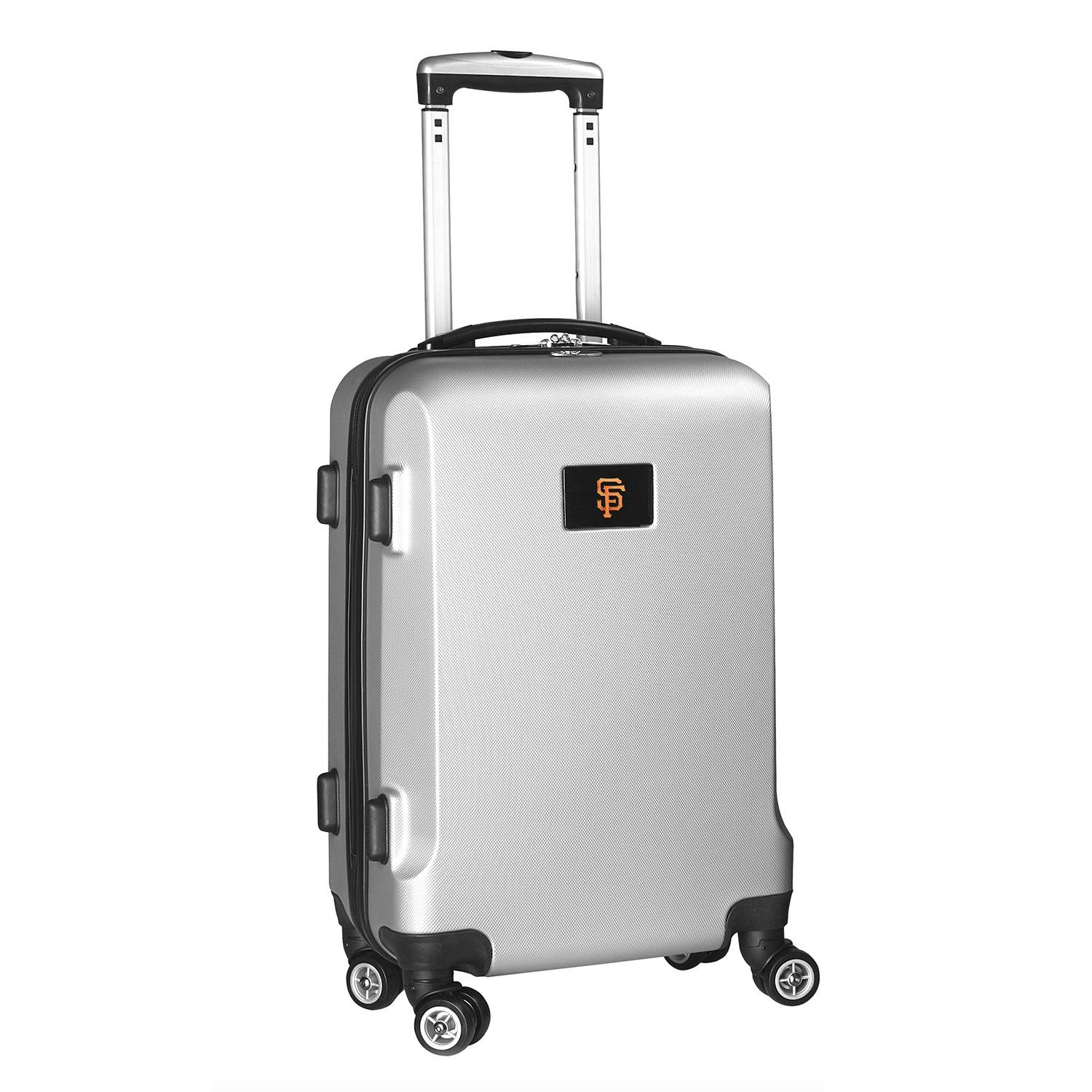 MLB San Francisco Giants Carry-On Hardcase Spinner, Silver by Denco