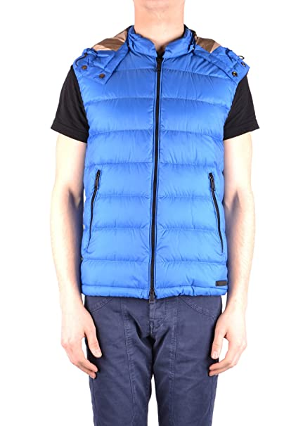 f972e53dab Burberry Gilet - Uomo Blau XL: Amazon.it: Abbigliamento