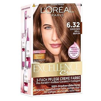 L Oréal Paris Excellence 6 32 Sonniges Hellbraun 3er Pack 3 X 1