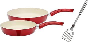 silber GSW 860222 Pfannen-Set Gastro traditionell Eisen geschmiedet 2-tlg