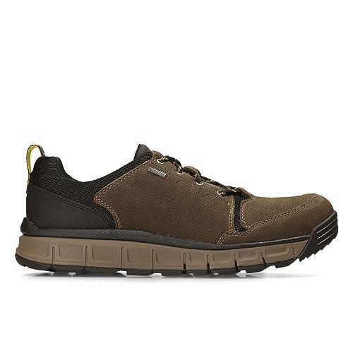 Verde Nobuk Base Tex® Gore Casual En Zapatos Hombre Clarks Edlund QxtdrshC