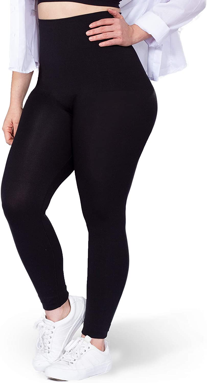 Shapermint EMPETUA High Waisted Compression Leggings Shapewear for Women