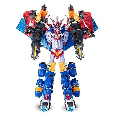 TOBOT Mini Master V Transformation Action Figure Toy Robot: Toys & Games