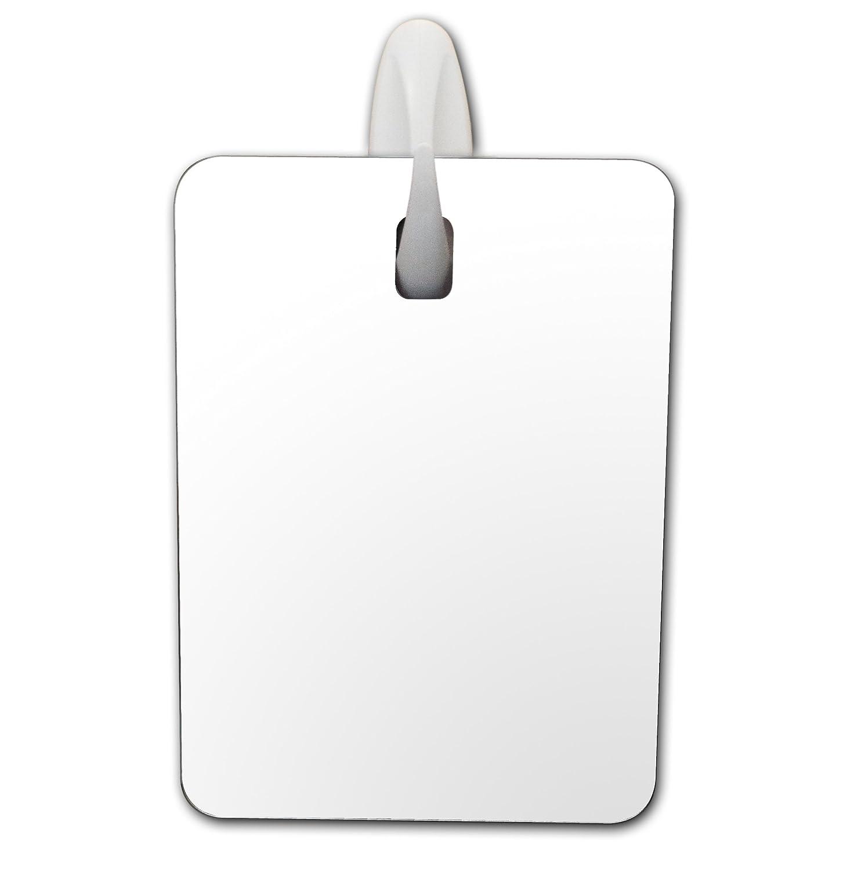 Amazon.com : Fog Free Shower Mirror ~ Large Size Premium Fogless for No Fog  Shaving ~ Anti Fog Mirror INCLUDES 3M Command Hook for Bath ~ Won't Fall ...