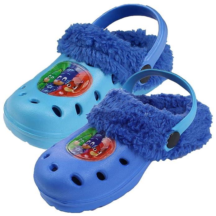PJ Masks Superpigiamini - Zuecos de Material Sintético para niño Azul Size: 28/29: Amazon.es: Zapatos y complementos