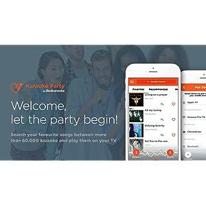 Karaoke Party by Redkaraoke - Free karaoke machine