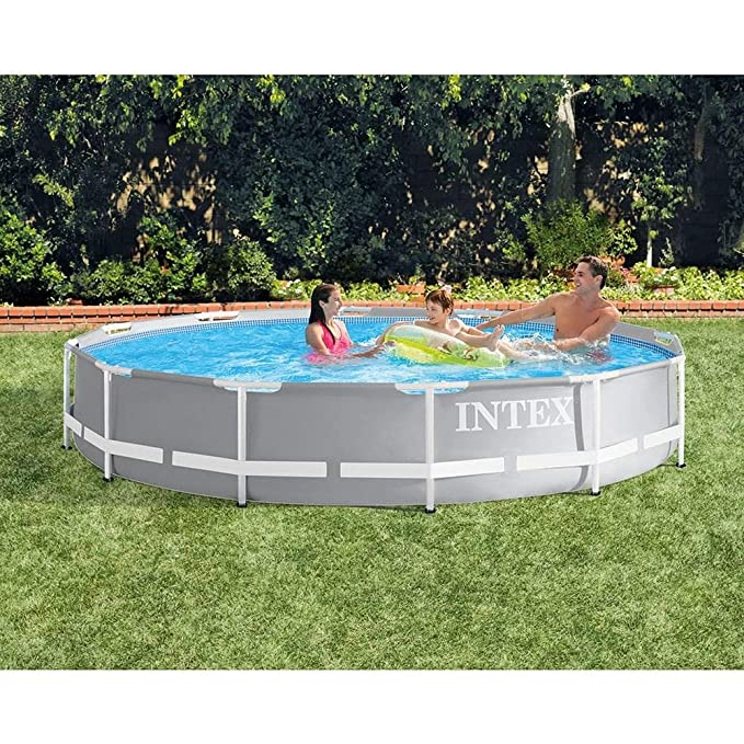 Amazon.com: Intex - Bomba de filtro de piscina con marco de ...