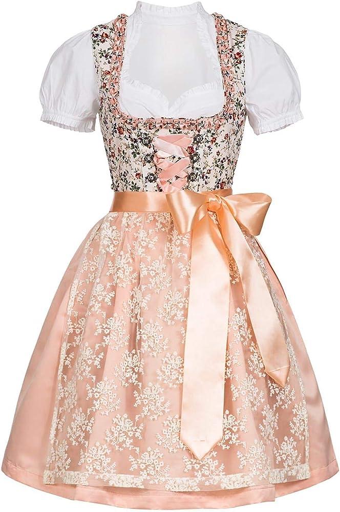Seventyseven Lifestyle - Vestido de tirolesa para mujer, con ...