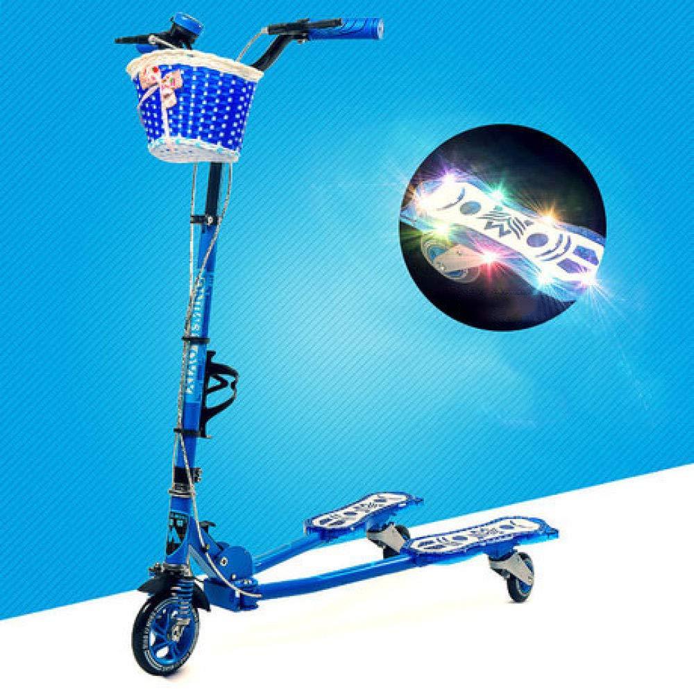 Defect Kinder Roller Dreirad-Blitzroller im Freiensport-Babyriemenscheibe ca B