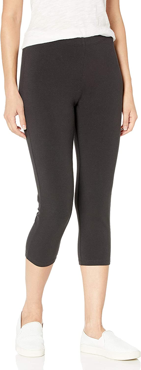 Hanes Women's Stretch Jersey Capri