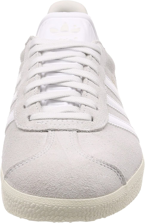 adidas Gazelle Basket Mode Homme Blanc Balcri Ftwbla Blacre 000