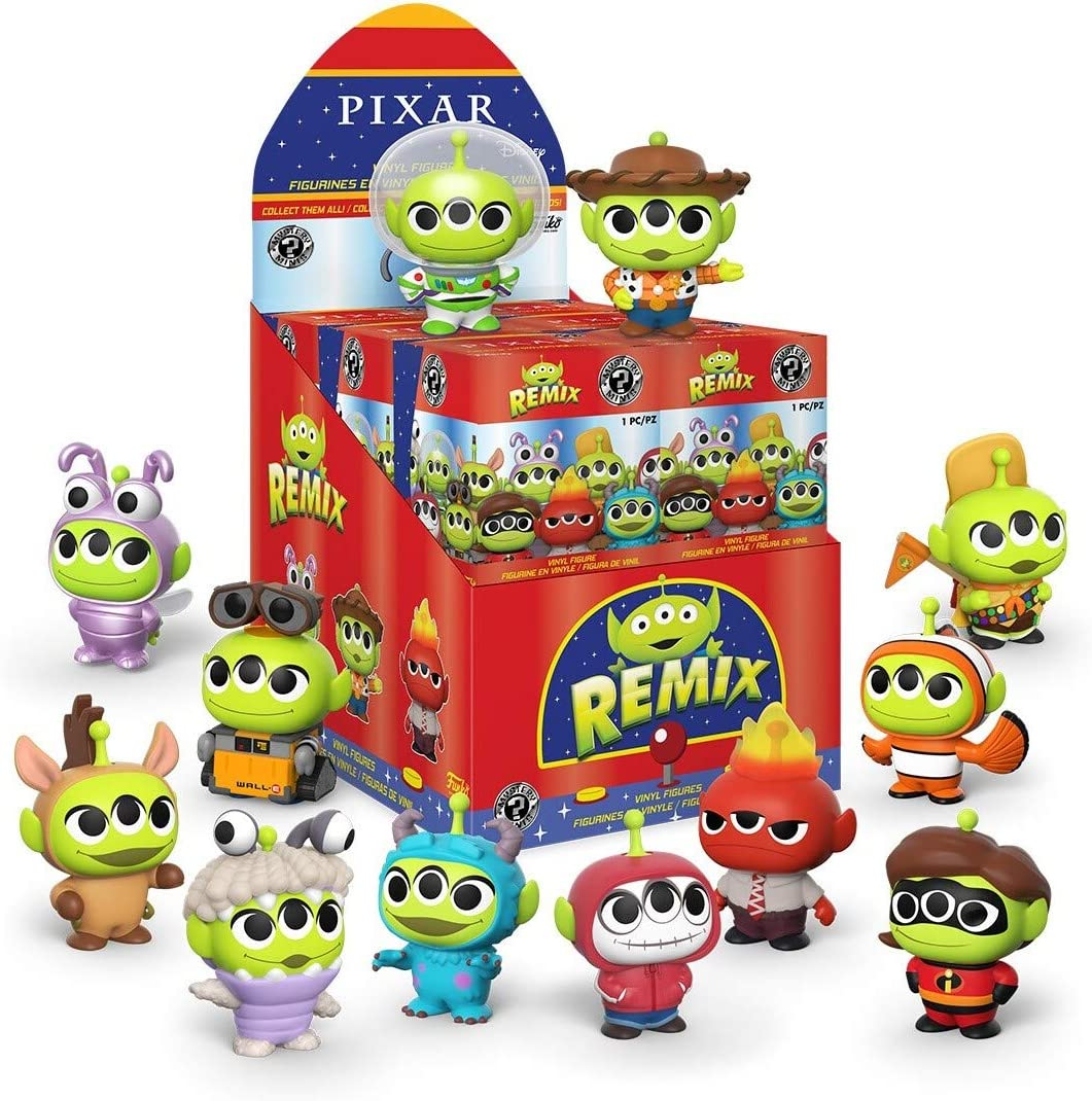Funko- Mystery Mini: Pixar-Alien in Costumes Figura Coleccionable, Multicolor (49094): Amazon.es: Juguetes y juegos