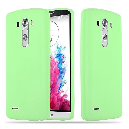 4 opinioni per Cadorabo- Custodia Candy silicone TPU LG G3 super sottile per- Case Cover