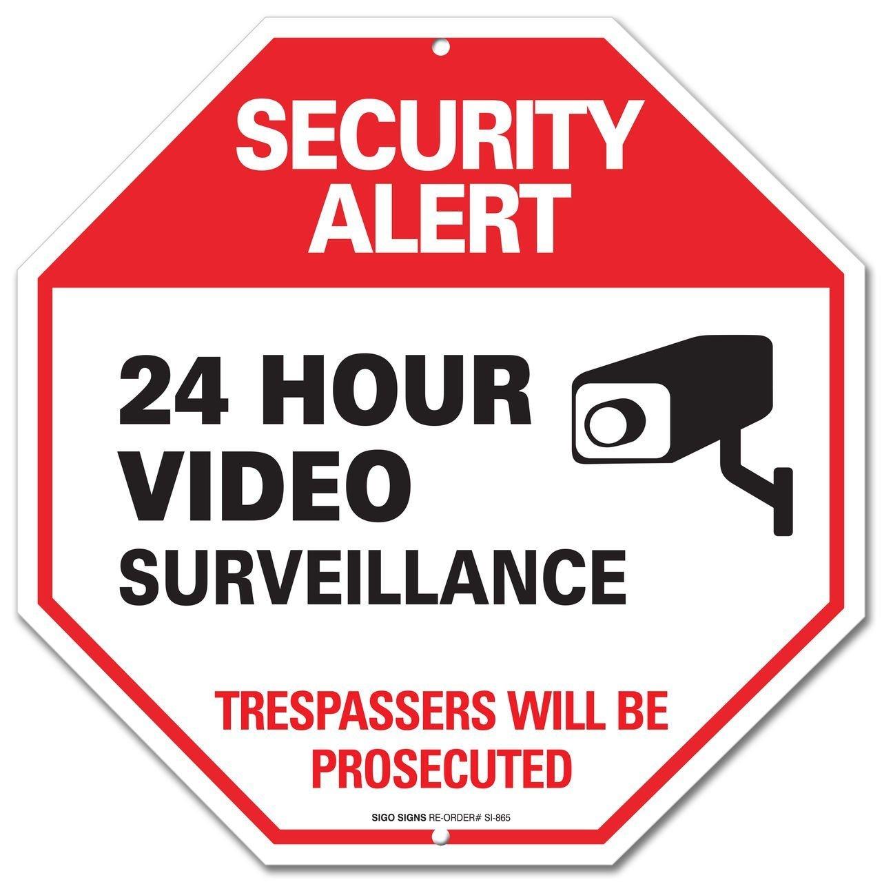 Amazon signs safety signs signals industrial scientific video surveillance buycottarizona Choice Image