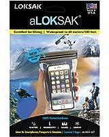 LOKSAK aLOKSAK iPhone Drybag 4 x 7 inch, 2-Pack (aLOKD2-4x7)