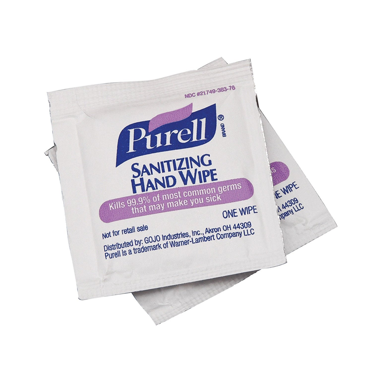 PURELL Sanitizing Hand MDhgG Wipes - Individually Single Wrapped, 300 Count (5 Pack) by PuWeZl