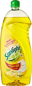 Sunlight Dishwashing Liquid, Lemon, 1L