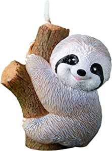 Cute Baby Sloth Birthday Candle for Party Baby Shower