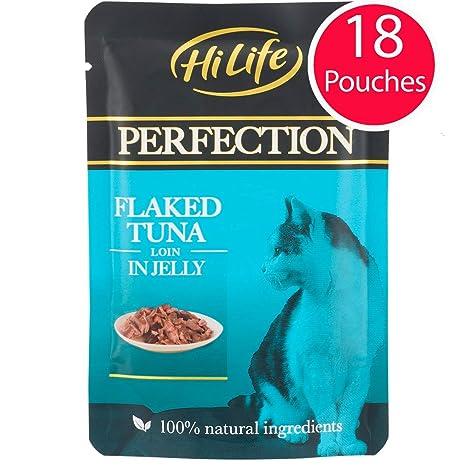 HILIFE Perfection - Bolsas de Comida para Gatos con Forma de ...