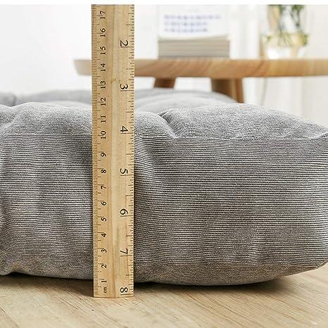 Amazon.com: EGOBUY - Cojín de suelo cuadrado macizo para ...