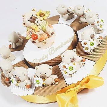 Gâteau Bonbonnière Ourson Naissance Baptême Anniversaire Communion