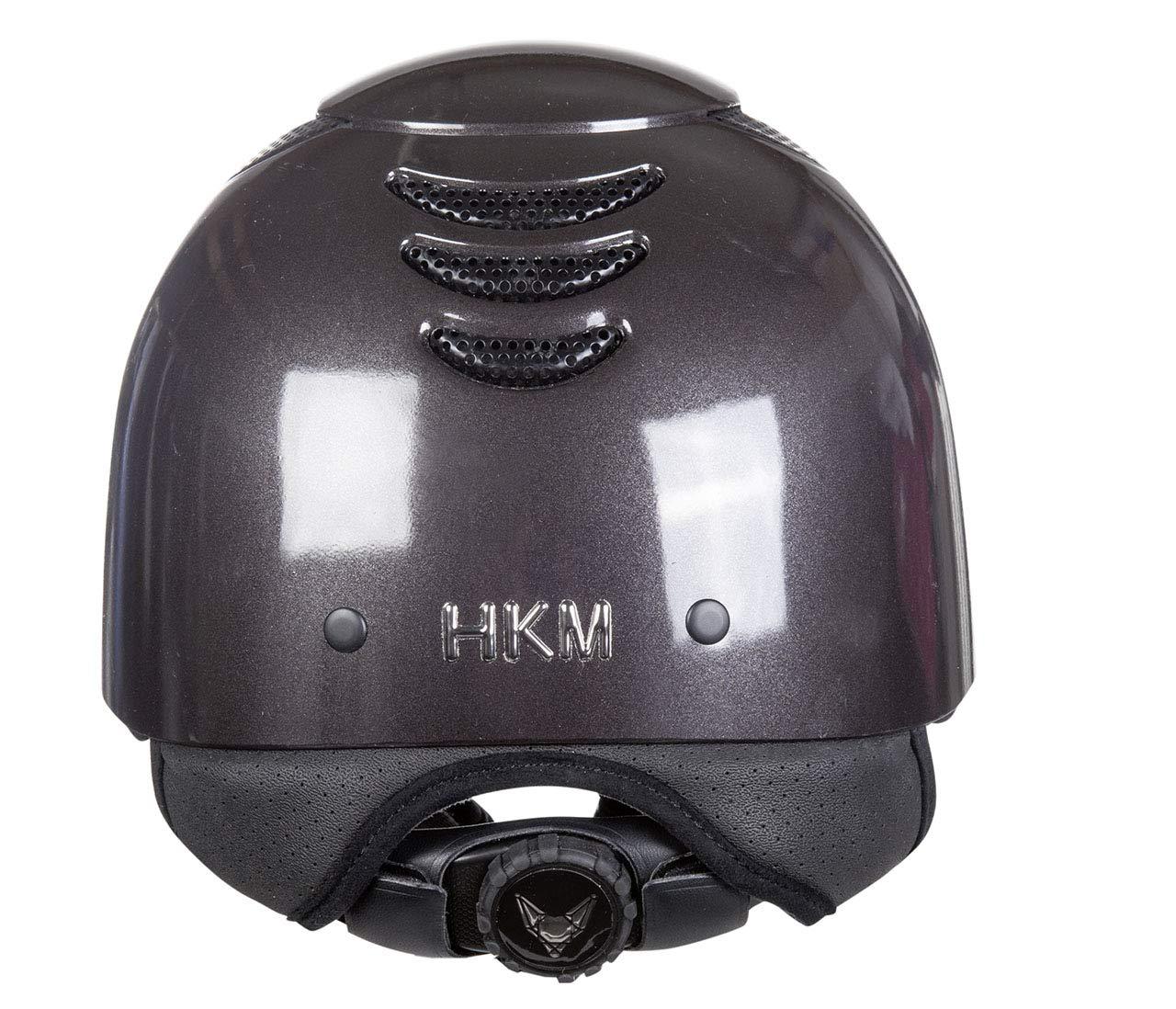 HKM - Casco de equitación hípica 20 A 24 pulgadas modelo Rocket de los niños casco: Amazon.es: Deportes y aire libre