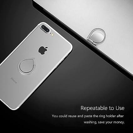 Leathlux Ring Stand Holder, Teléfono de Soporte/Cell Phone Dedo ...