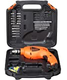 BLACK+DECKER HD400K50 Impact Drill Kit (Pack of 50), Orange
