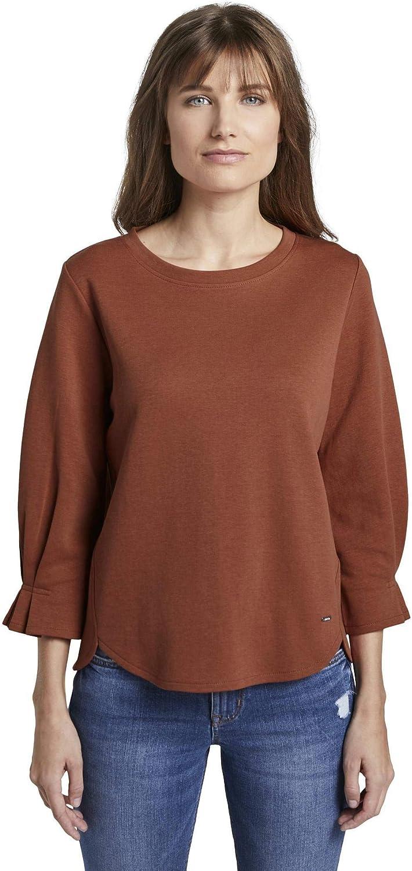TOM TAILOR DENIM Damen Basic Sweater Pullover