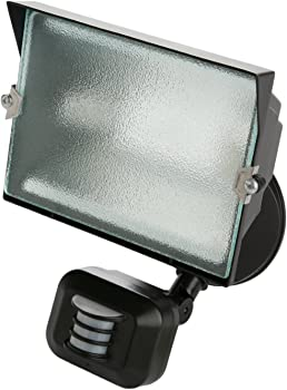 Designers Edge Single Head Motion Activated Security Flood Light