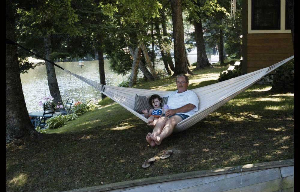 Soft Woven Cotton Fabric for Supreme Comfort Hammock Sky Brazilian Double Hammock Outdoor and Indoor Use LYSB00PB03YA2-SPRTSEQIP Natural Porch Two Person Bed for Backyard