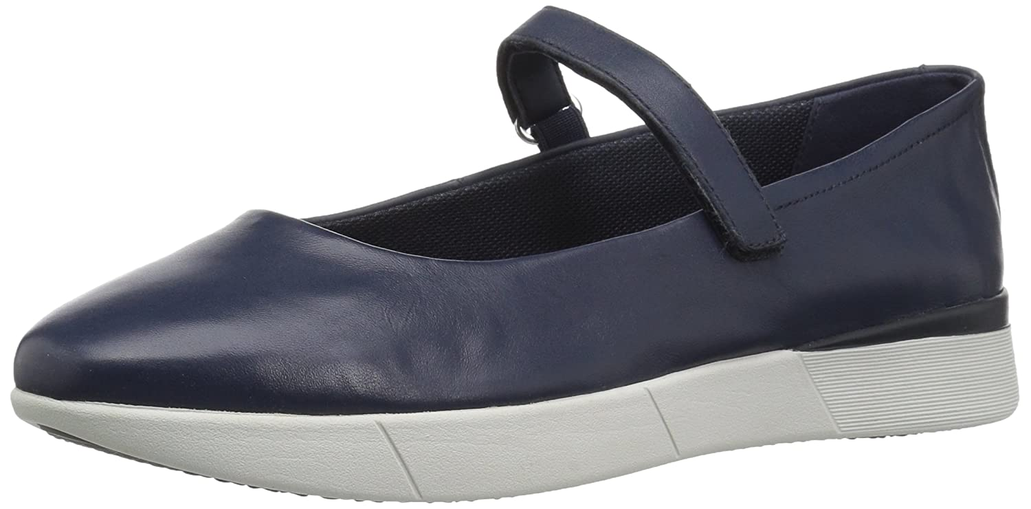 Easy Spirit Women's Cacia Mary Jane Flat B07BMTVPWN 9 M US|Blue/Blue