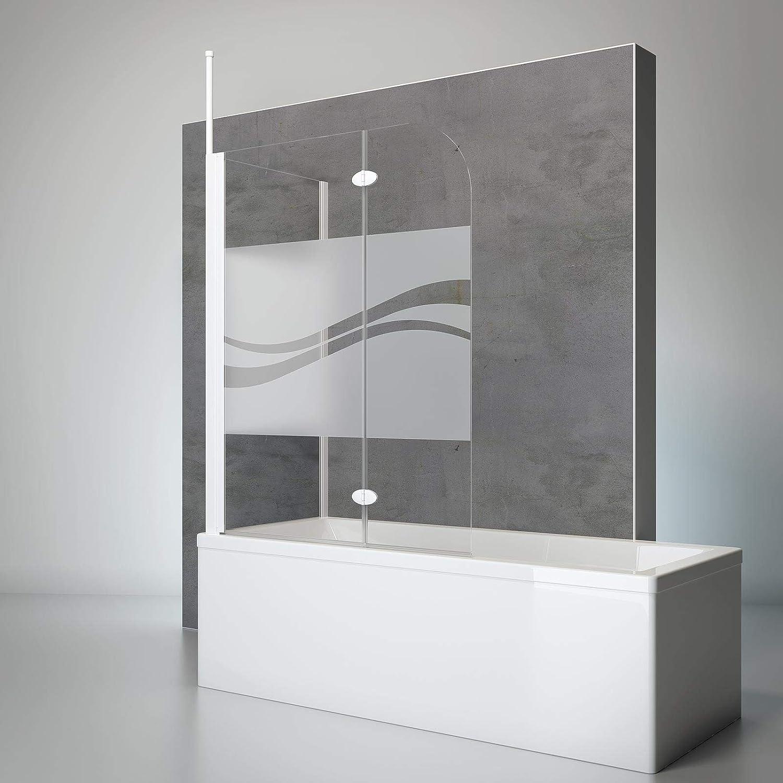 Schulte 4060991021527 comodidad Mampara para bañera, Alpin de color blanco, 140 x 116 x 70 cm: Amazon.es: Bricolaje y herramientas
